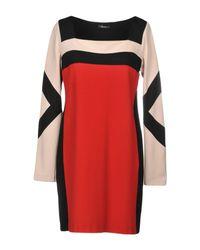 Hanita Red Short Dress
