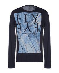 Gas Blue T-shirt for men