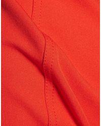 10 Crosby Derek Lam Red Knielanges Kleid