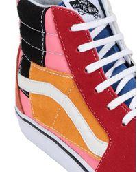 Sneakers abotinadas Vans de hombre de color Red