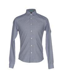 Scotch & Soda Blue Shirt for men