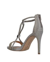 CafeNoir Metallic Sandals