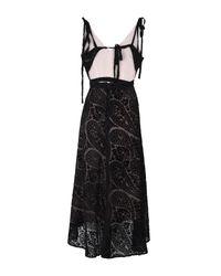 We Are Kindred Black 3/4 Length Dress