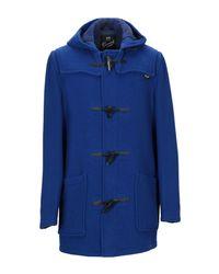 Manteau long Gloverall pour homme en coloris Blue