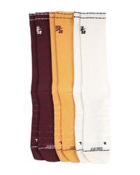 Nike Purple Short Socks for men