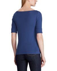 Camiseta Lauren by Ralph Lauren de color Blue