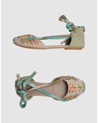 Belle By Sigerson Morrison Natural Sandals