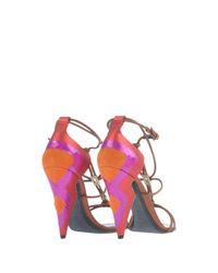 Nicholas Kirkwood Brown Sandals