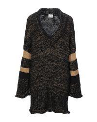 VIKI-AND Black Short Dress