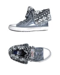 Replay Gray High-top Sneaker