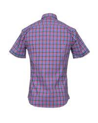 BOSS Green Purple Shirt for men