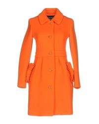 Boutique Moschino Orange Coat