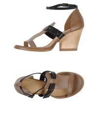 Ellen Verbeek - Brown Sandals - Lyst