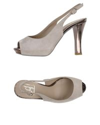 Sgn Giancarlo Paoli - Gray Sandals - Lyst
