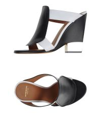 Givenchy - Black Sandals - Lyst