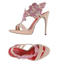 Cesare Paciotti - Pink Sandals - Lyst