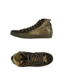 Alluminio - Metallic High-tops & Sneakers - Lyst