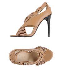 L.A.M.B. | Natural Sandals | Lyst