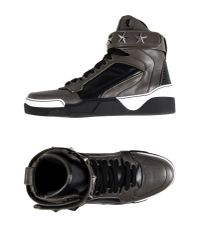 Givenchy - Tyson Black Leather High Top Trainers for Men - Lyst