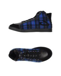 Alberto Guardiani | Blue High-tops & Sneakers for Men | Lyst