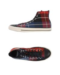 Converse - Red High-tops & Sneakers for Men - Lyst