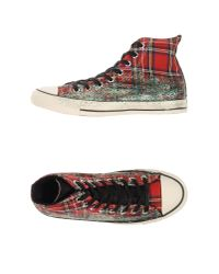 Converse - Red High-tops & Sneakers - Lyst