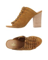 Belle By Sigerson Morrison - Natural Sandals - Lyst