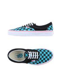 Vans - Blue Low-tops & Sneakers - Lyst