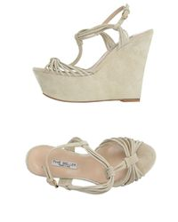The Seller | Natural Sandals | Lyst