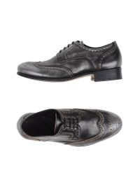 N.d.c. Made By Hand | Gray Lace-up Shoe | Lyst