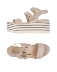 Chiarini Bologna - Natural Sandals - Lyst