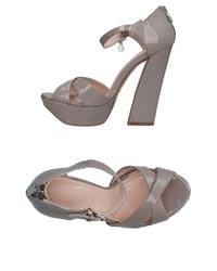 Primadonna Gray Sandals