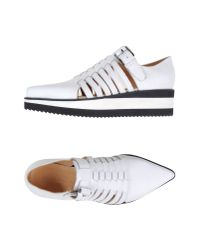 Barbara Bui - White Loafer - Lyst