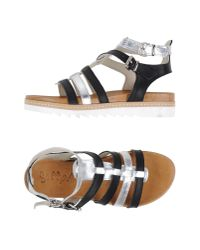 Scoop - Black Sandals - Lyst