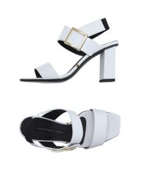 Gianmarco Lorenzi - White Sandals - Lyst