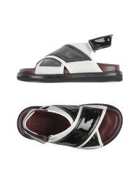 Antonio Marras Black Sandals for men