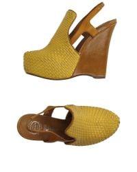 Jeffrey Campbell - Yellow Sandals - Lyst
