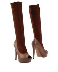 Manila Grace Brown Boots