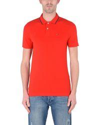 Tommy Hilfiger Poloshirt in Red für Herren