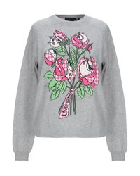 Love Moschino Gray Pullover