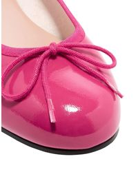 French Sole Pink Ballet Flats