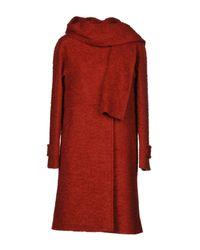 Trussardi Red Coat