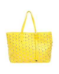 Miu Miu Yellow Handbag