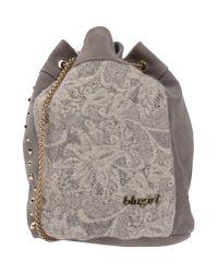 Blugirl Blumarine | Gray Cross-body Bag | Lyst