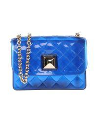Hervê Guyel Blue Cross-body Bag