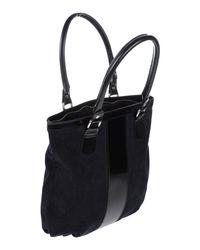 John Galliano Blue Handbag