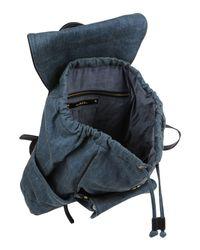DIESEL - Blue Backpacks & Fanny Packs - Lyst