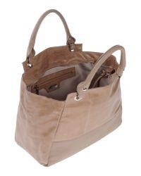 Nicoli Natural Handbag