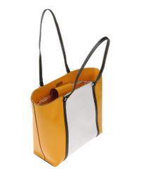 Nicoli Yellow Shoulder Bag