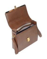 MSGM Brown Cross-body Bag